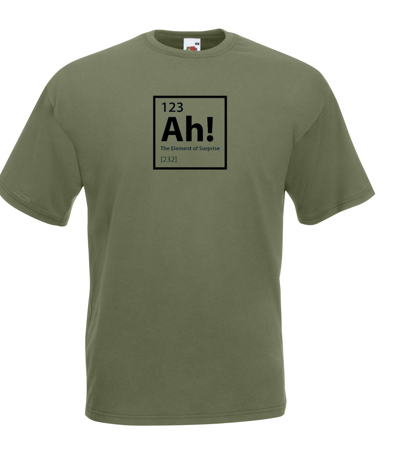 THE BIG BANG THEORY INSPIRED 'NERDY' PERIODIC TABLE GEEKY HIGH QUALITY T SHIRT